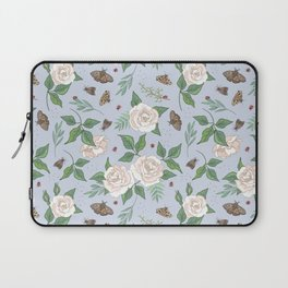 Roses, Moths and Ladybirds Laptop Sleeve