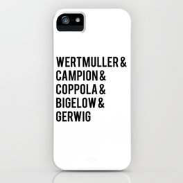 Female Best Director Oscar Nominees Tote iPhone Case