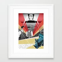 science Framed Art Prints featuring Science by Chris Newton