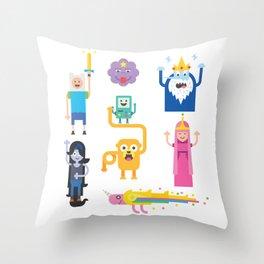 a-time Throw Pillow