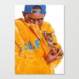 Tyler The Creator Poster Canvas Print