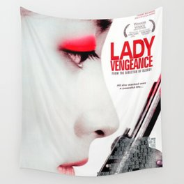 Lady Vengeance Wall Tapestry