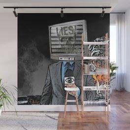Idiot Box Wall Mural