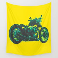 bike Wall Tapestries featuring Bike by Pure