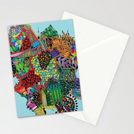Crystalised Colour Stationery Cards
