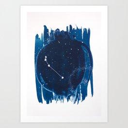Aries Zodiac Print Art Print