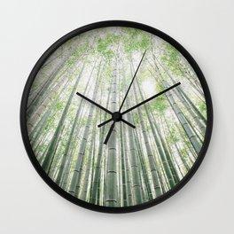 Bamboo Grove Wall Clock