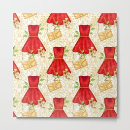 Chistmas fashion Metal Print