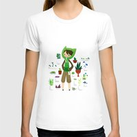 plants T-shirts featuring Plants by Zennore