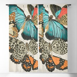 Butterfly Print by E.A. Seguy, 1925 #2 Blackout Curtain
