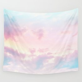 Unicorn Pastel Clouds #2 #decor #art #society6 Wall Tapestry