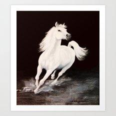 I Dreamed Him White (painting) Art Print