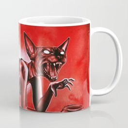The hungry sphynx Coffee Mug