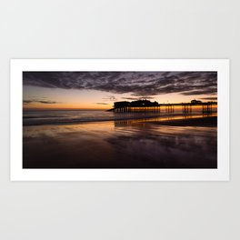 Cromer - First light Art Print