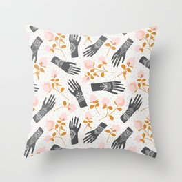 Henna Party Throw Pillow