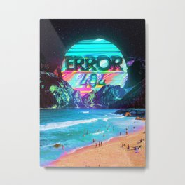 Error 404 Metal Print