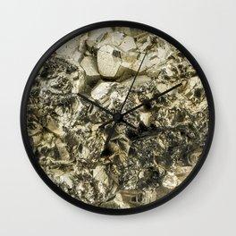 FOOLS GOLD Wall Clock