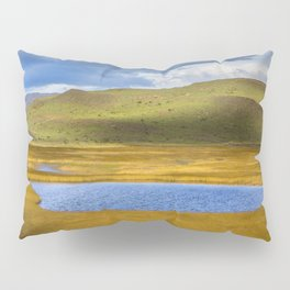 Patagonian Lakes Pillow Sham