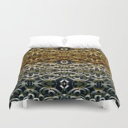 Floral Wrought Iron G267 Duvet Cover