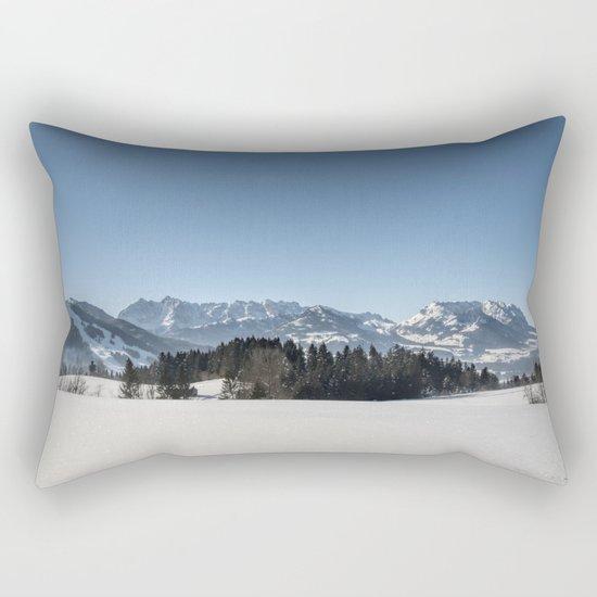 Winter Wonderland I Rectangular Pillow