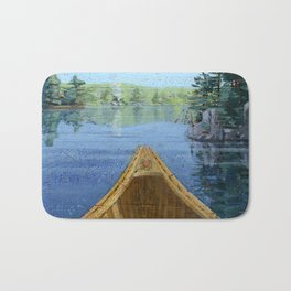 canoe bow Bath Mat