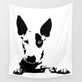 BULL TERRIER GIFTS Wall Tapestry