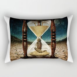 Sands of Time ... Memento Mori Rectangular Pillow