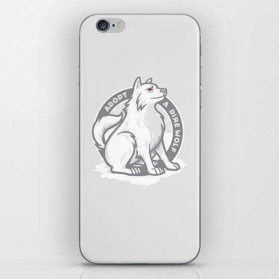 Adopt A Dire Wolf iPhone & iPod Skin