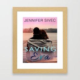 Saving Eva (by Brenda Gonet) Framed Art Print