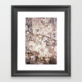 Iceland texture ii Framed Art Print