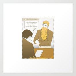 AwkwardIRL #13 Art Print