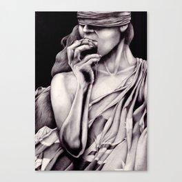 Warganic Canvas Print