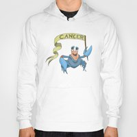cancer Hoodies featuring Cancer by Dan Paul Roberts