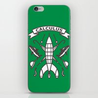 tintin iPhone & iPod Skins featuring Seal Of Calculus by M. Gulin