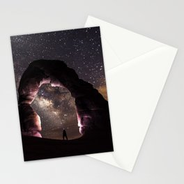 Delicate Nights Stationery Cards