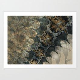 Edge of Space Art Print