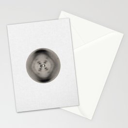 X-ray diffraction image of DNA Stationery Cards