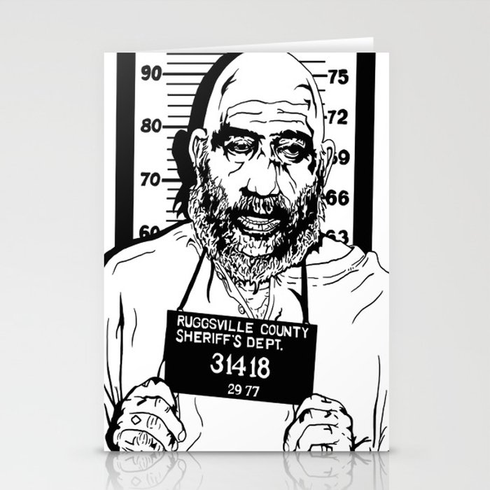 Captain Spaulding Devils Rejects Stationery Cards By Cryptrottedbones