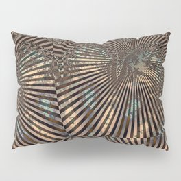 Royal Abstract by Leslie Harlow Pillow Sham