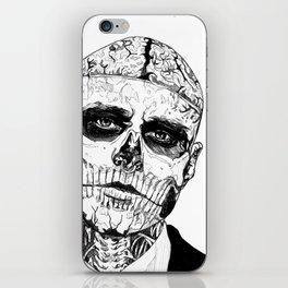 Zombie Boy iPhone Skin