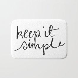 keep it simple Bath Mat