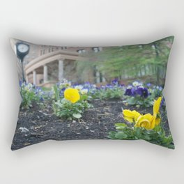 Spring Time at the William Pitt Student Union Rectangular Pillow
