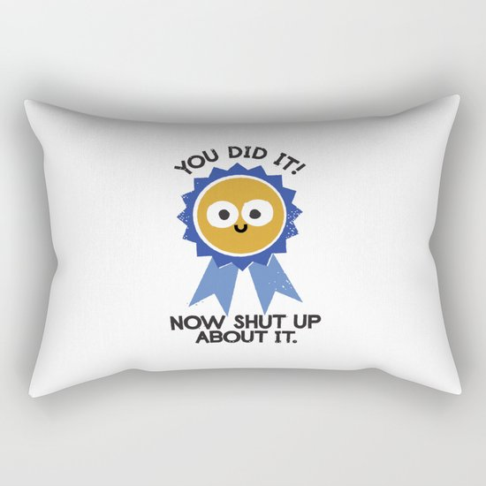 Boast Likely to Succeed Rectangular Pillow
