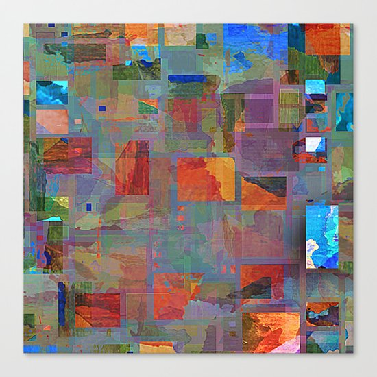 the patch Canvas Print
