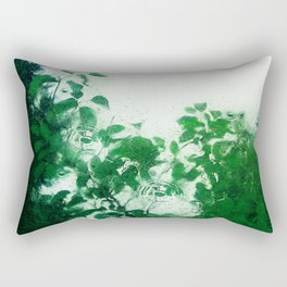 Spring Fresh Rain Rectangular Pillow