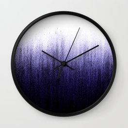 Lavender Ombré Wall Clock