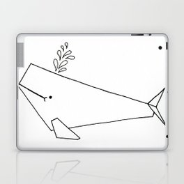 Very whale! Laptop & iPad Skin