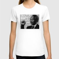 mandela T-shirts featuring Mandela tribute by WAMTEES