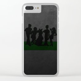 dog scooby Clear iPhone Case