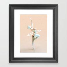 Origami Dancer Framed Art Print